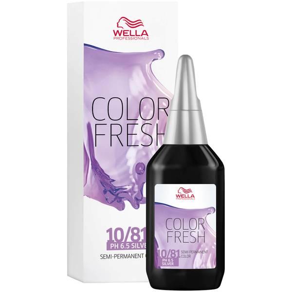 Wella Professionals Care Color Fresh Semi-Permanent Colour 75ml (Various Shades)