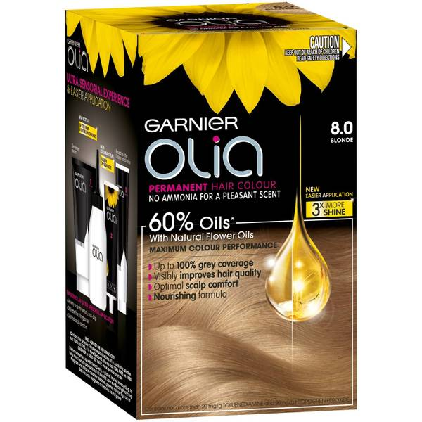 Garnier Olia Permanent Hair Colour - Blonde 8.0