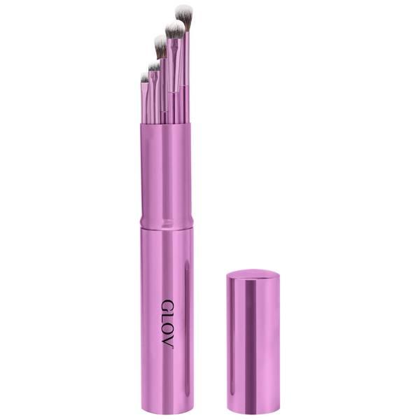 GLOV Eye Makeup Brushes Purple