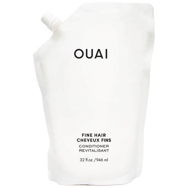 OUAI Fine Hair Conditioner Refill 946ml