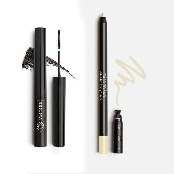 mirenesse Lash Whip 24 Hour Mascara and Eye Brightening Liner