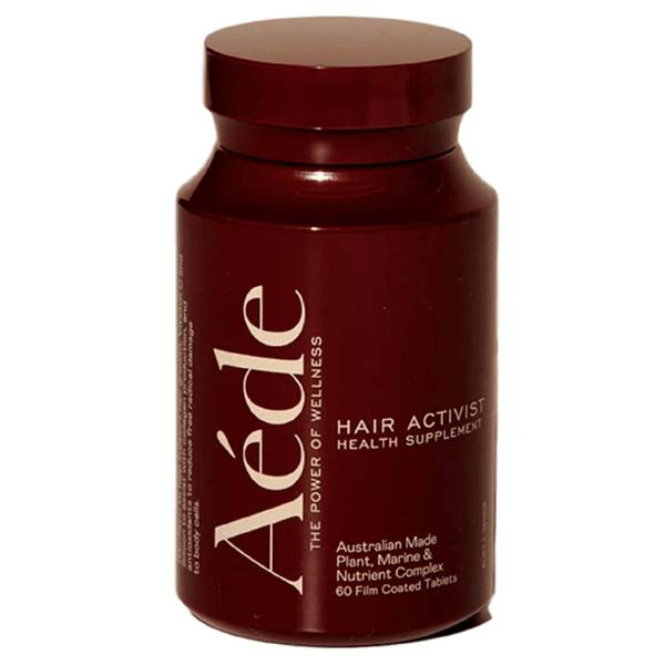 Aéde Hair Activist Health Supplement - 1 Month (60 Tablets)
