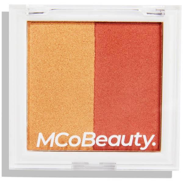 MCoBeauty Highlight & Blush Shimmer Powder - Nectar Glow