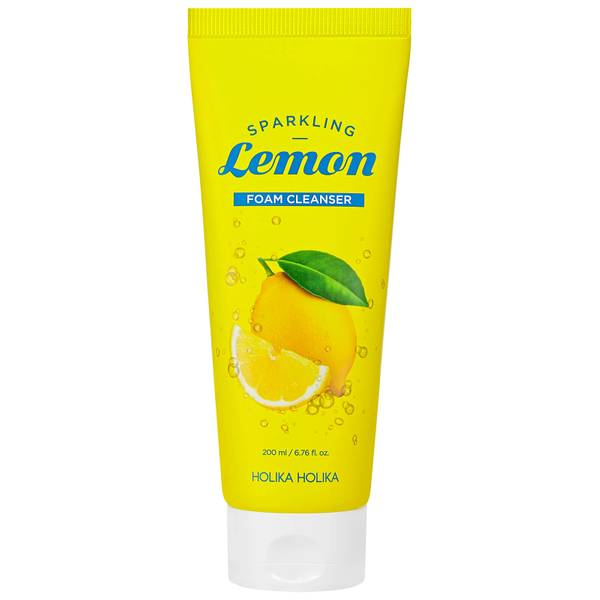 Holika Holika Sparkling Lemon Foam Cleanser 200ml