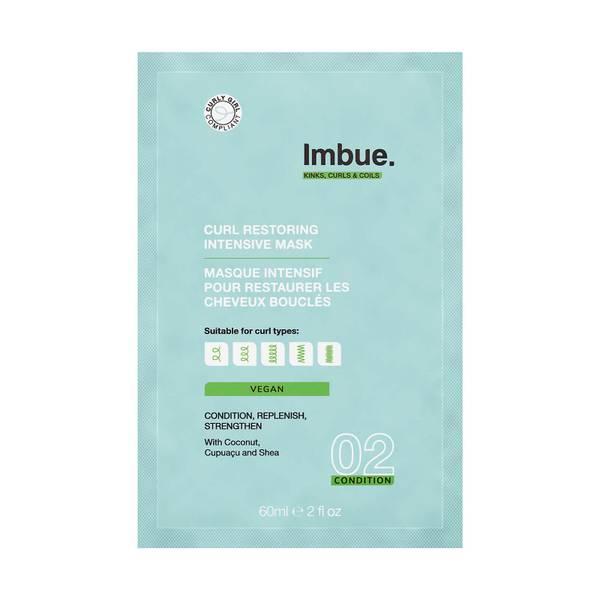 Imbue Curl Restoring Intensive Mask Sachet 2.03 fl. oz