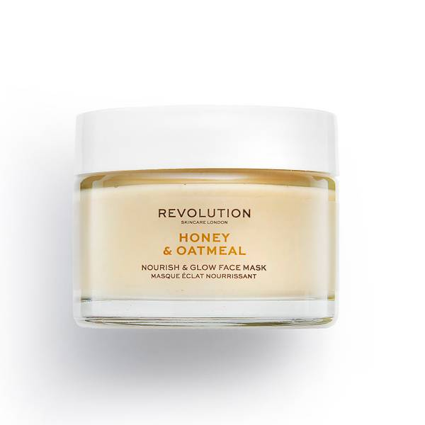 Revolution Skincare Honey and Oatmeal Nourish and Glow Face Mask 50ml