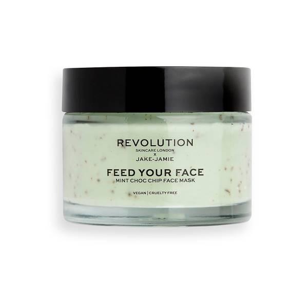 Revolution Skincare x Jake Jamie Mint Choc Chip Face Mask 50ml