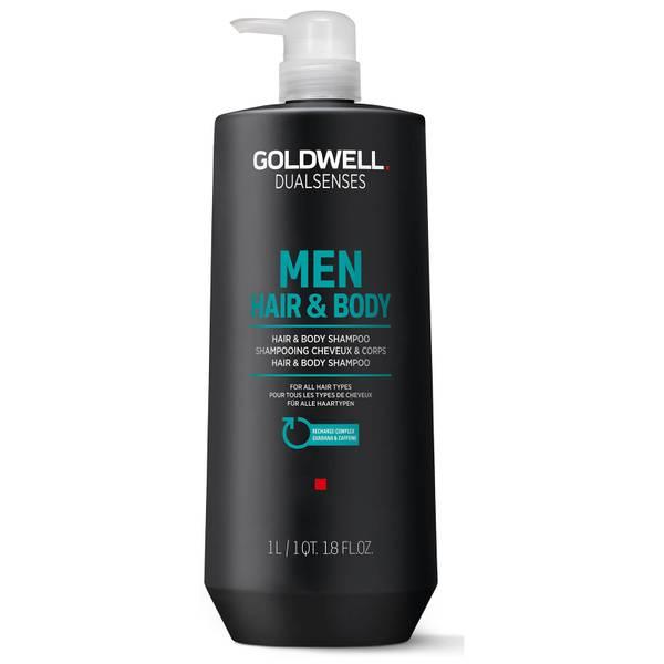 Goldwell Dualsenses Men's Hair & Body Shampoo 1000ml