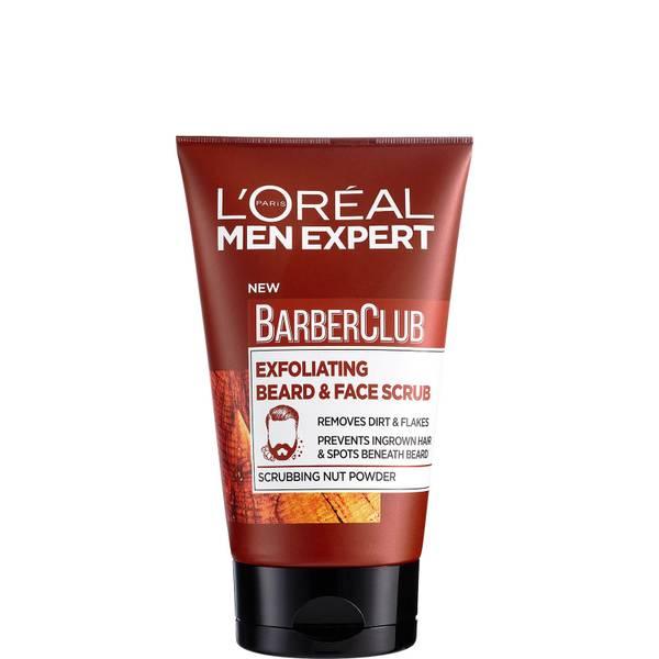 L'Oréal Men Expert Barber Club Exfoliating Beard & Face Scrub 100ml
