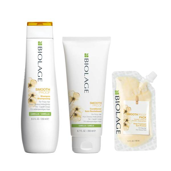 Biolage SmoothProof Trio Set for Frizzy Hair
