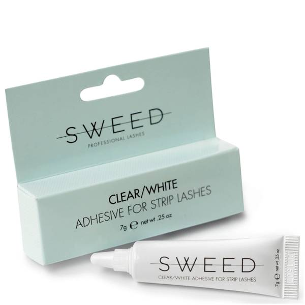 Sweed Lashes Adhesive for Strip Lashes - Clear/White