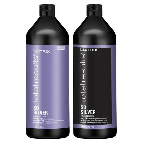 Matrix So Silver Litre Duo