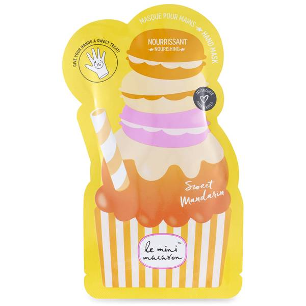 Le Mini Macaron Hand Mask Sweet Mandarin
