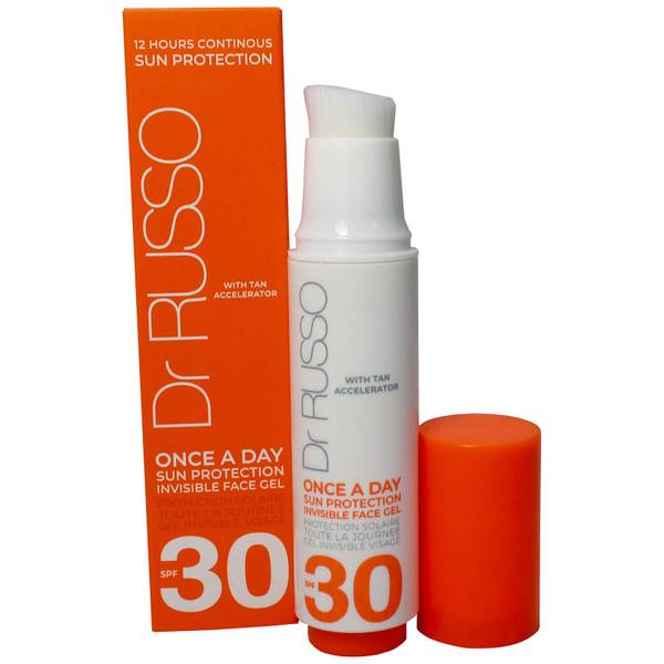 Dr. Russo Once a Day SPF30 Sun Protective Face Gel 15ml