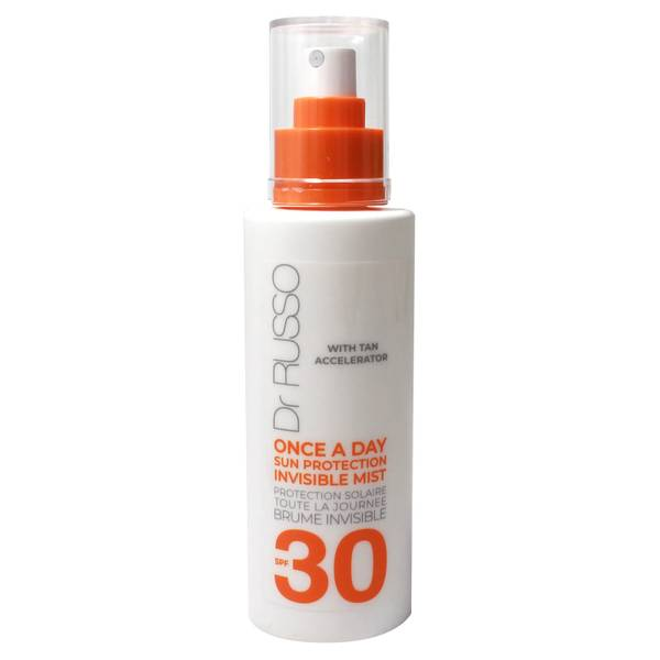 Dr. Russo Once a Day SPF30 Invisible Mist Tan Accelerator 150ml