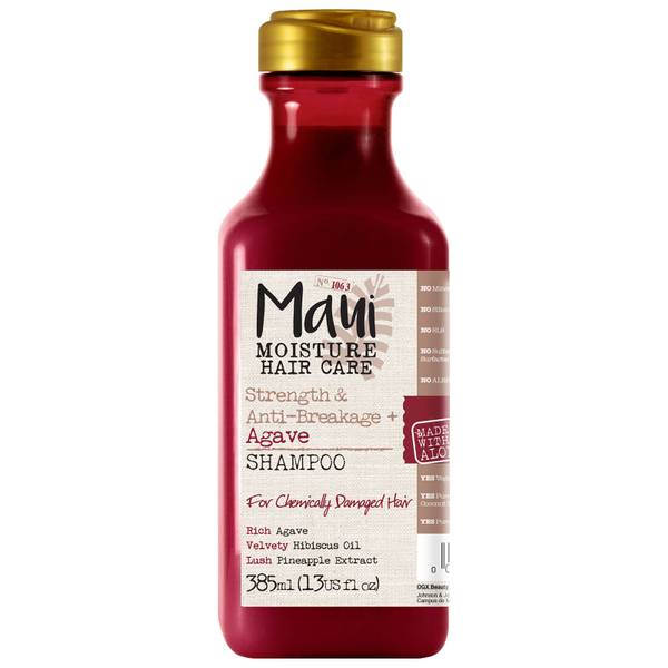 Maui Moisture Strength and Anti-Breakage+ Agave Shampoo 385ml