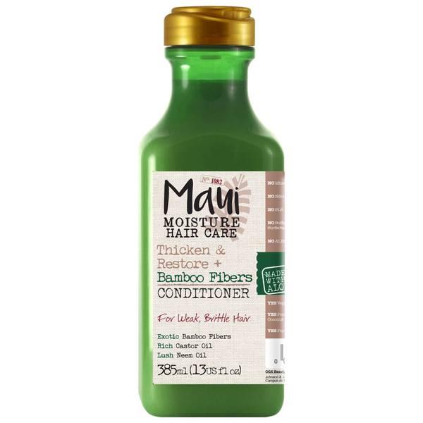 Maui Moisture Thicken and Restore+ Bamboo Fibres Conditioner 385ml