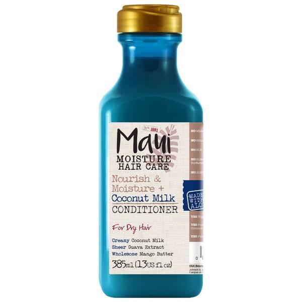 Maui Moisture Nourish and Moisture+ Coconut Milk Conditioner 385ml