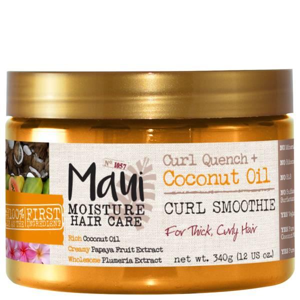 Maui Moisture Curl Quench+ Coconut Oil Hair Mask 340g