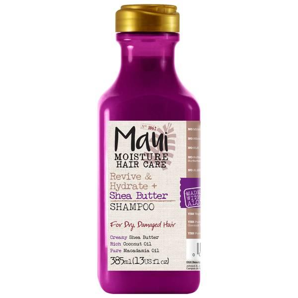 Maui Moisture Revive and Hydrate+ Shea Butter Shampoo 385ml