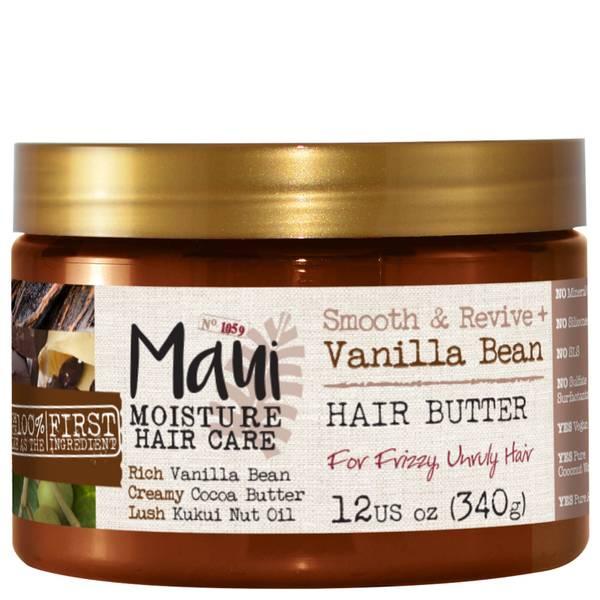 Maui Moisture Smooth and Revive+ Vanilla Bean Hair Mask 340g