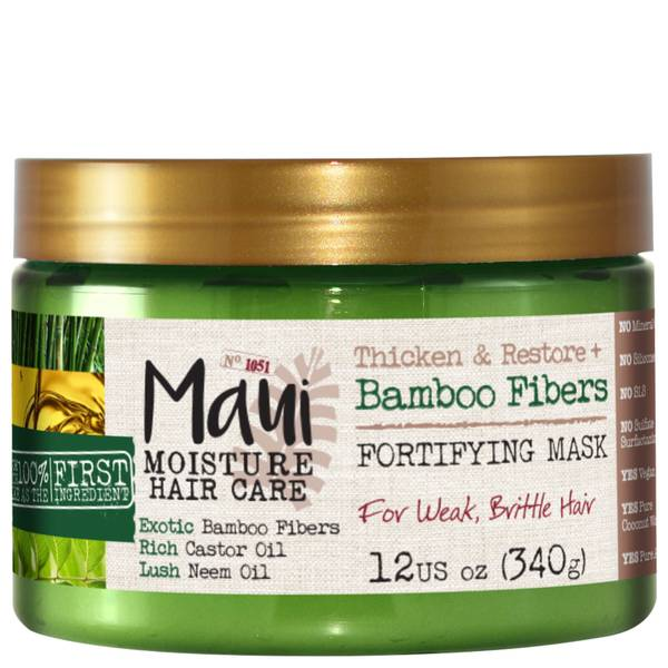 Maui Moisture Thicken and Restore+ Bamboo Fibres Fortifying Hair Mask 340g