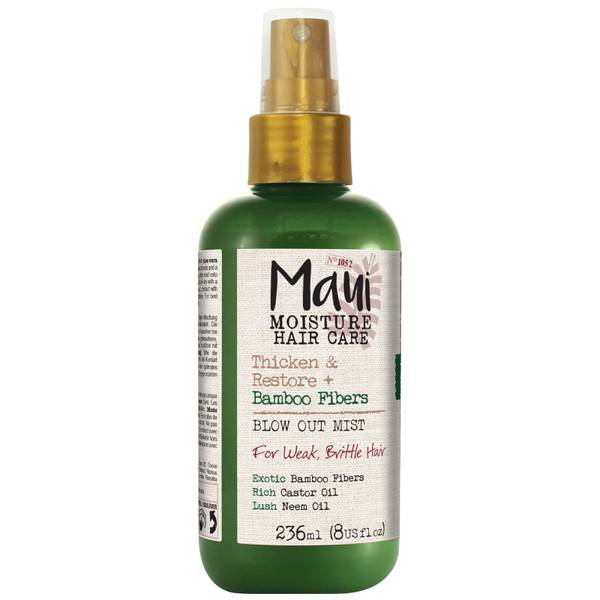 Maui Moisture Thicken and Restore+ Bamboo Fibers Blow Out Mist 236ml