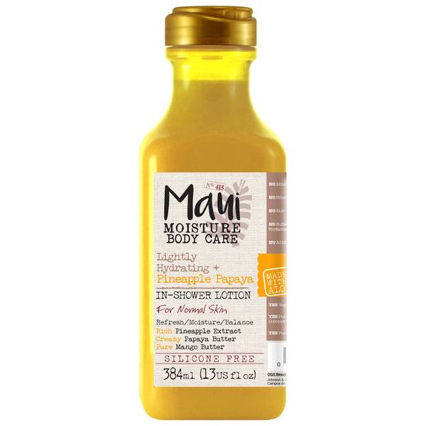 Maui Moisture Lightly Hydrating+ Pineapple Papaya in-Shower Body Lotion 384ml