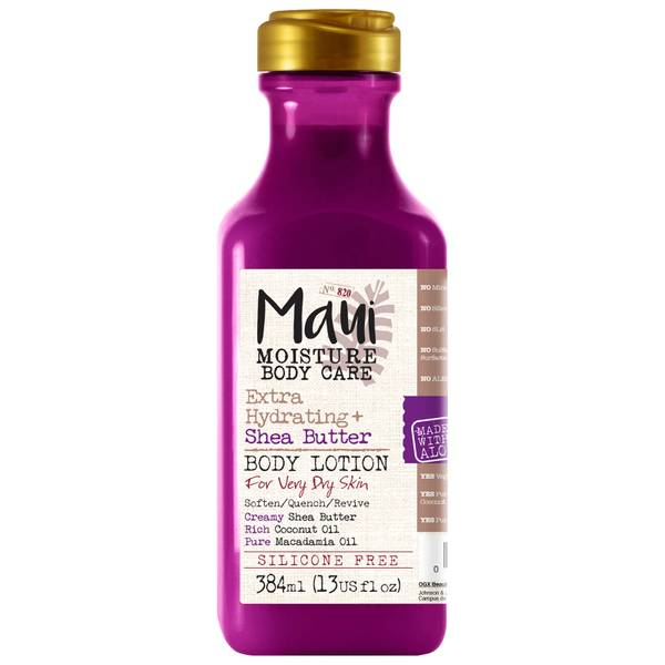 Maui Moisture Extra Hydrating+ Shea Butter Body Lotion 384ml