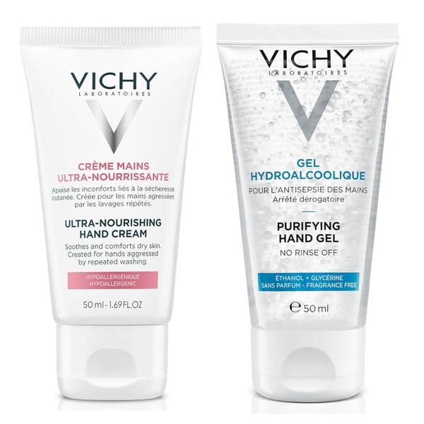 Vichy Hand Sanitiser Gel (Various Sizes)
