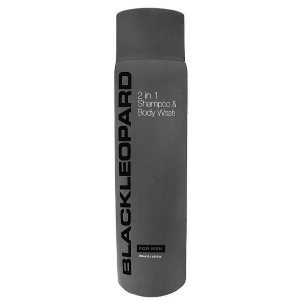 Black Leopard 2-in-1 Shampoo & Body Wash 300ml