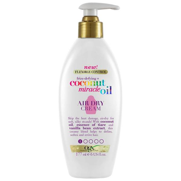 OGX Frizz-Defying+ Coconut Miracle Oil Air Dry Cream 177ml