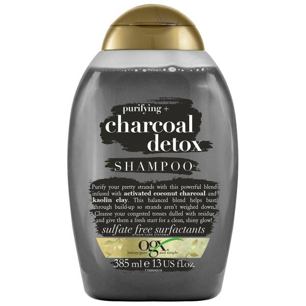 OGX Purifying+ Charcoal Detox Shampoo 385ml