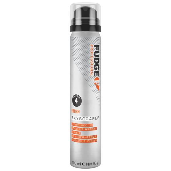 Fudge Professional Skyscraper Light to Medium Hold Mini Hair Spray for Women and Men 70g