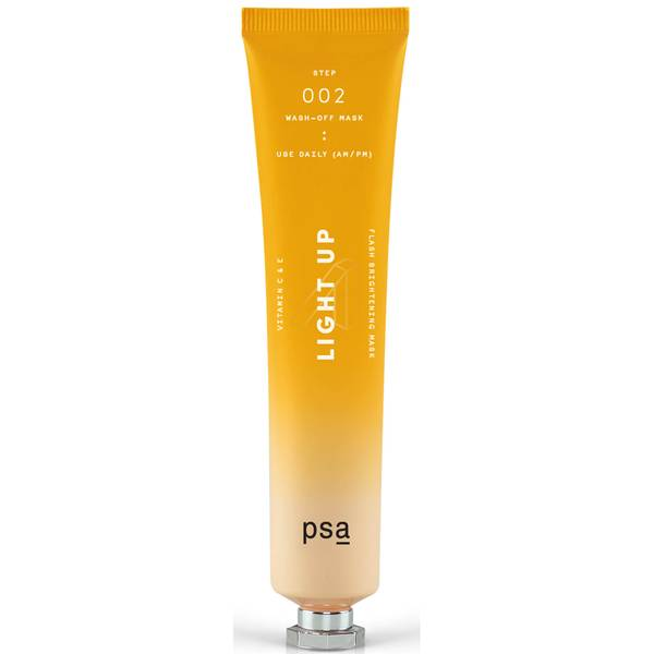 PSA SKIN Light Up Vitamin C and E Flash Brightening Mask 50ml