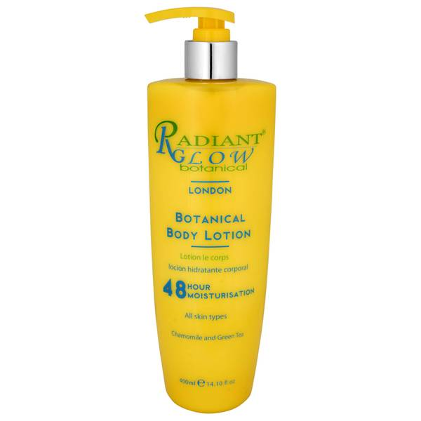 Radiant Glow Botanical 48Hr Body Lotion 400ml
