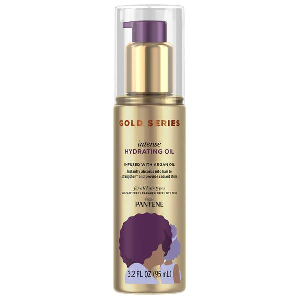 Pantene Gold Series Intense Hydrating Hair Oil with Argan Oil 95ml