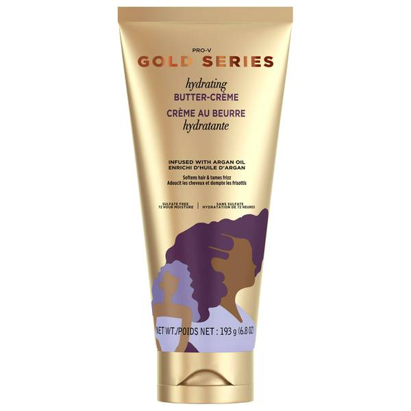 Pantene Gold Series Hydrating Butter Crème Leave-in Hair Conditioner 193g