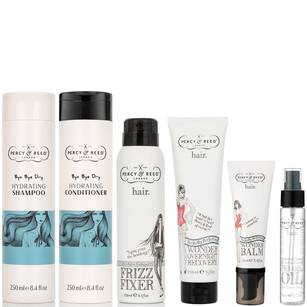 Percy & Reed 5 Steps to Hydrated Hair Bundle