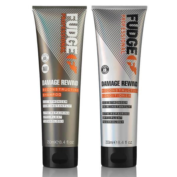 Fudge Professional Damage Rewind Shampoo and Conditioner Duo 2 x 250ml