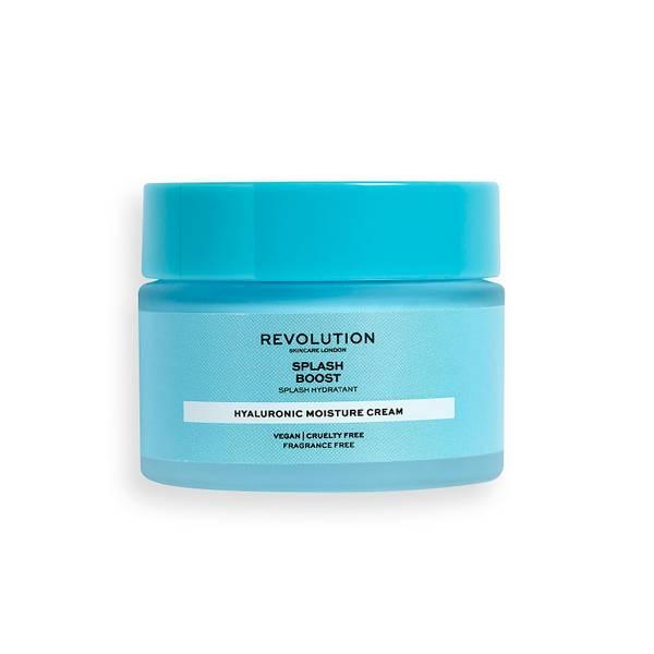 Revolution Skincare Splash Boost Moisture Cream with Hyaluronic Acid 50ml