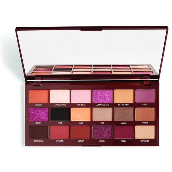 Revolution Eye Shadow Palette - Cranberries & Chocolate