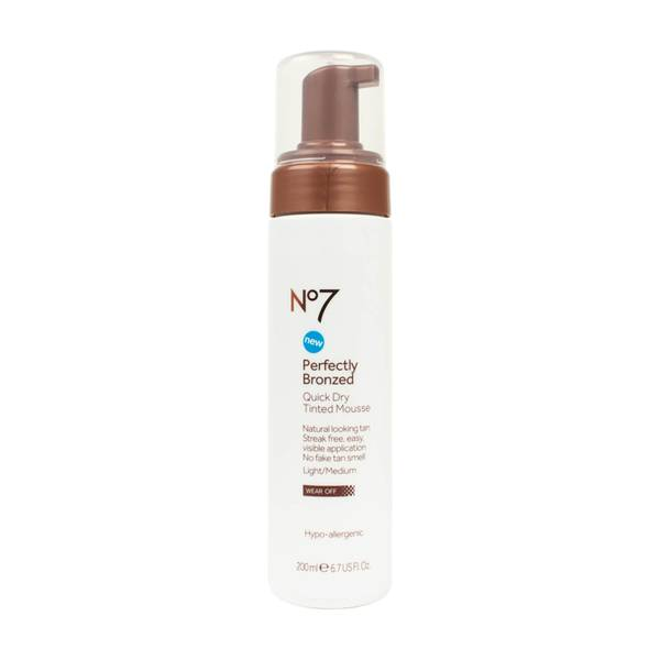 Perfectly Bronzed Quick Dry Tinted Mousse 200ml