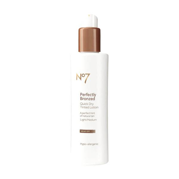 Perfectly Bronzed Self Tan Quick Dry Tinted Lotion 200ml