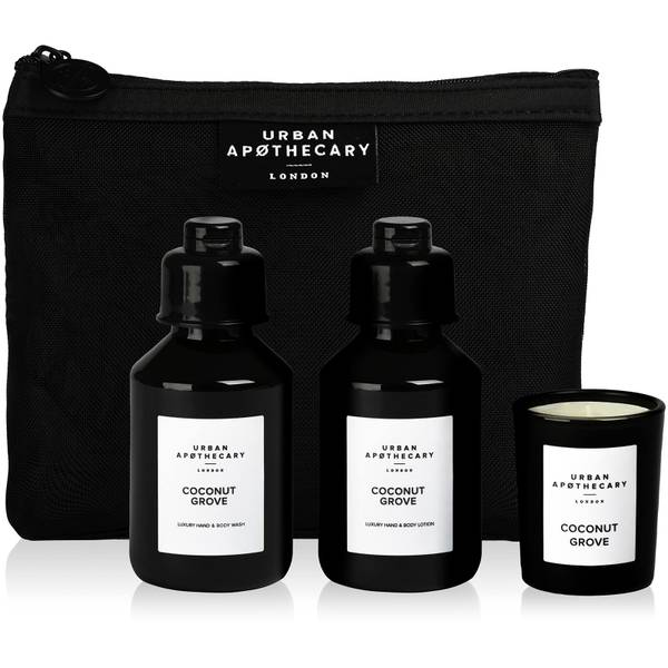 Urban Apothecary Coconut Grove Luxury Bath and Fragrance Gift Set (3 Pieces)