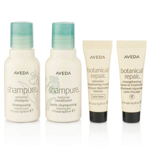 Aveda Nourish and Style Shampure Hair Care Set