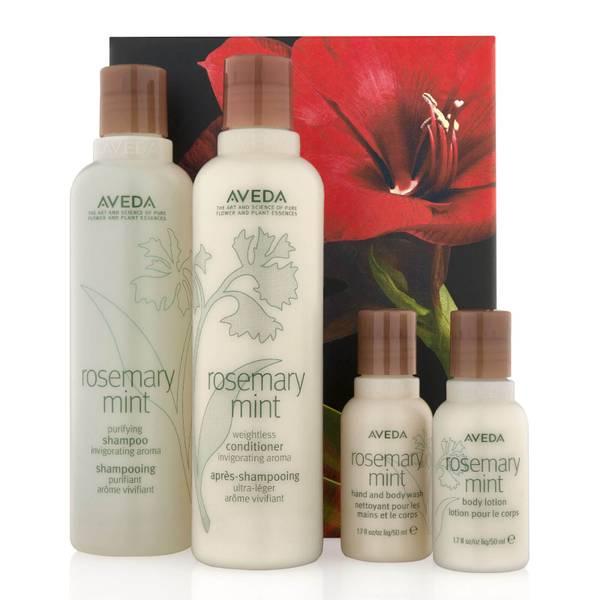 Aveda Rosemary Mint Invigorating Hair and Body Care Set