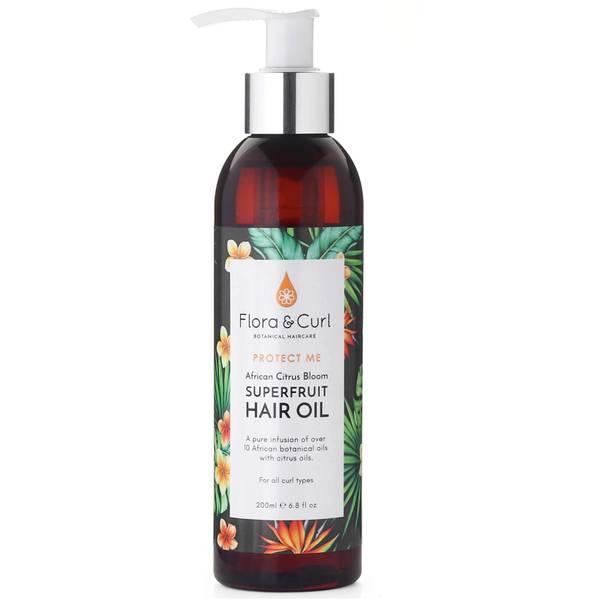 Flora & Curl African Citrus Superfruit Hair Oil 200ml