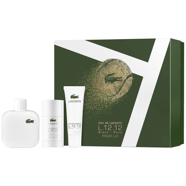 Lacoste L.12.12 Male Blanc Gift Set 208ml