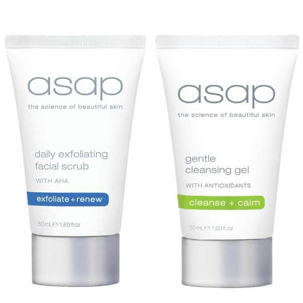asap Exfoliating Cleanse Set